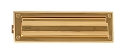 Brass Accents 3 Inch x 10 Inch Mail Slot