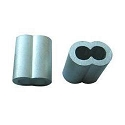 Aluminum Hourglass Sleeve for Wire Rope Swaging