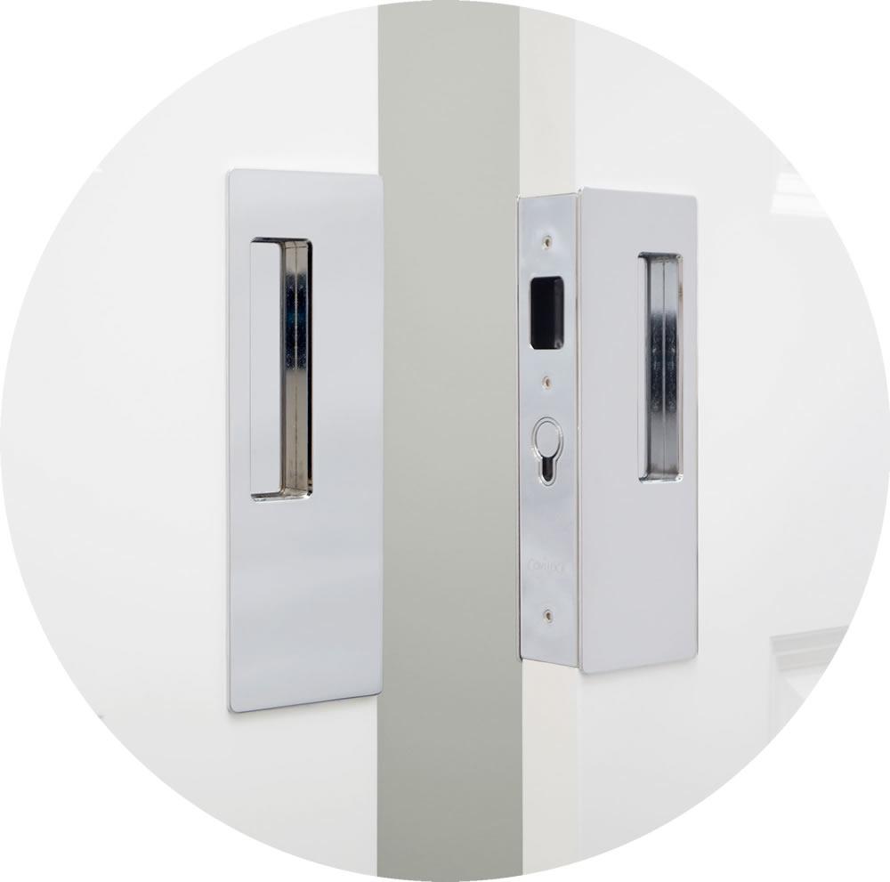 Cavilock Cl400d Magnetic Keyed Pocket Door Lock For Bi