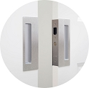 CaviLock CL400D Passage Magnetic Bi-parting Pocket Door Set