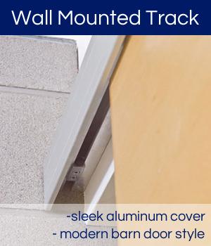 ... Cavity Sliders Wall Mounted Sliding Door Tracks