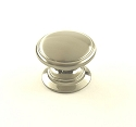 Century Apac 1 1/4 Inch Cabinet Knob in Satin Nickel