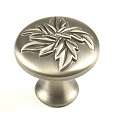 Century Aspen 1 3/16 Hand Polished Cabinet Knob in Antique Pewter
