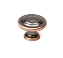 Century BCD 1 1/4 Inch Cabinet Knob in Oil Rubbed Bronze w/Highlights