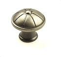 Century Cali 1 1/4 Inch Cabinet Knob in Antique Pewter