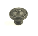 Century Country 1 3/16 Inch Cabinet Knob in Vibra Pewter