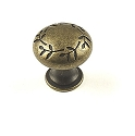 Century Hamilton 1 3/16 Inch Cabinet Knob in Antique Bronze