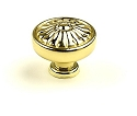 Century Hartford 1 1/4 Inch Knob in Polished Brass