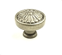 Century Hartford 1 1/4 Inch Knob in Antique Pewter