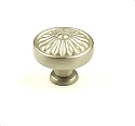 Century Hartford 1 1/4 Inch Knob in Dull Satin Nickel