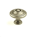 Century Hartford 1 3/16 Inch Cabinet Knob in Antique Pewter