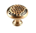 Century Highlander 1 3/8 Inch Cabinet Knob in Weathered Copper