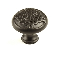 Century Highlander 1 3/8 Inch Cabinet Knob in Weathered Bronze