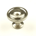 Century Lisbon 1 1/4 Inch Cabinet Knob in Satin Nickel