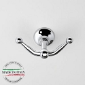 Century Ravello Double Hook - Polished Chrome