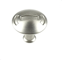 Century Medieval 1 3/16 Inch Cabinet Knob in Dull Satin Nickel