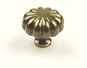 Century Plymouth 1 1/4 Inch Cabinet Knob in Polished Antique