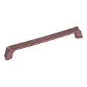 Century Raw Authentic 160MM CC Cabinet Pull in Matte Antique Copper
