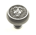 Century Roman 1 1/2 Inch Cabinet Knob in Antique Pewter