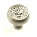 Century Roman 1 1/2 Inch Cabinet Knob in Matt Satin NIckel