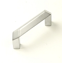 Venus 64mm Cabinet Pull in Dull Chrome Europe
