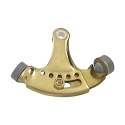 Deltana Solid Brass Hinge Mounted Adjustable Hinge Pin Stop