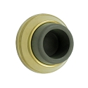 Deltana Solid Brass 1 7/8 Inch Diameter Flush Mounted Bumper
