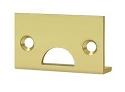 Deltana Solid Brass Angle Strike for Surface Bolts