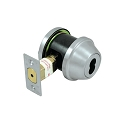 Deltana Commercial Single Cylinder Deadbolt IC Core Non Cylinder Grade 3 with 2-3/4 Inch Back