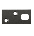 Deltana Solid Brass Guide Plate for Extension Flush Bolt