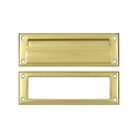 Deltana 8 7/8 Inch Mail Slot with Interior Frame