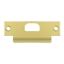 Deltana Solid Brass 4-7/8 x 1-1/4 Inch T-Strike with Hole
