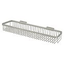 Deltana Solid Brass 17-1/2 x 4-3/8 Inch Rectangular Wire Basket