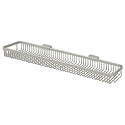 Deltana Solid Brass 28-1/2 Inch Rectangular Wire Basket