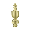 Deltana Urn Solid Brass Hinge Finial