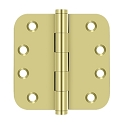 Deltana 4 x 4 Inch Solid Brass 5/8