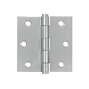 Deltana 3 x 3 Inch Stainless Steel Square Corner Residential Hinge - Pair
