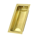 Deltana Solid Brass Large Flush Pull