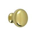Deltana Solid Brass Hollow Round Knob
