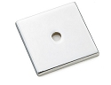 Emtek Art Deco Square Backplate for Cabinet Knobs