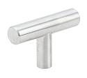 Emtek 2 Inch Stainless Steel Bar Knob