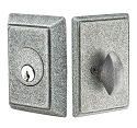 Emtek Wrought Steel Style #3 Single Cylinder Deadbolt