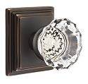Emtek Astoria Knob with Wilshire Rosette