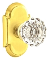 Emtek Astoria Clear Knob with Style 8 Rosette