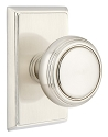 Emtek Norwich Knob With Rectangular Rosette