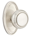 Emtek Norwich Knob With Oval Rosette