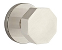 Emtek Octagon Modern Door Knob with Disk Rosette