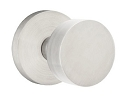 Emtek Stainless Steel Round Door Knob with Disk Rosette
