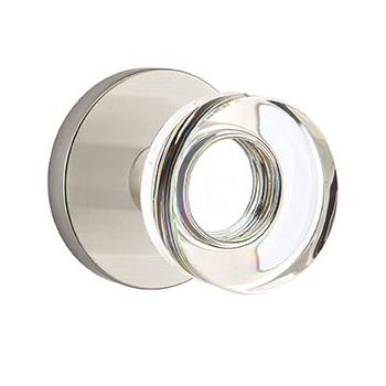 Emtek Disc Crystal Knob With Disk Rosette