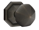 Emtek Lost Wax Octagon Knob with Style 15 Rosette